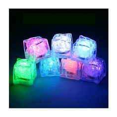 Glaçons lumineux fluos! -Fluo neon party