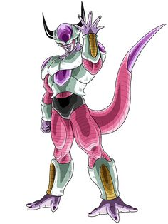 Frieza second form render [Dokkan Battle] by on DeviantArt Frieza Race, Lord Frieza, Akira, Dragon Ball Z, Character Concept, Character Art, Dbz Characters, Z Arts, Draw