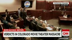 James Holmes was found Guilty on all 12 1st Degree Murder counts;  also found guilty of attempted first-degree murder on some counts. http://cnn.it/1V8xE39