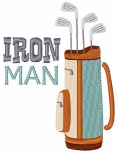 Hopscotch Embroidery Design: Iron Man 4.01 inches H x 2.98 inches W