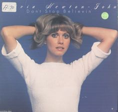 Olivia Newton-John Don't Stop Believin' Vinyl LP Record Album