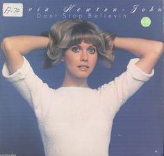Olivia Newton-John Don't Stop Believin' Vinyl LP Record Album