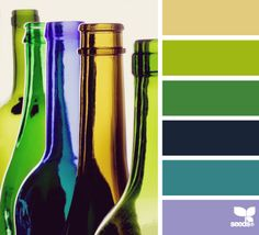 Shop kalinkapolinka.ru - Working with color. The proportions of color palettes.