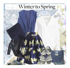 """""""Winter To Spring"""" by boho-at-heart ❤ liked on Polyvore featuring Timorous Beasties, WithChic, Old Navy, By Malene Birger, Chicwish, Miu Miu, Giuseppe Zanotti and Gianvito Rossi"""