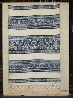 http://collections.vam.ac.uk/item/O364108/towel/  1500-1699 (made) woven linen, 1500-1699, Italian