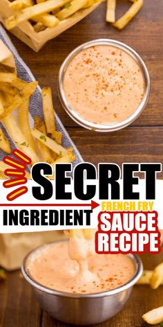This Secret Ingredient Fry Sauce recipe uses only a few ingredients to spice it up so it tastes amazing! Don't settle for plain ketchup and mayo any more! Spicy Mayo Recipe, Aioli Recipe, Spicy Sauce, Fish Sauce, Bakery Recipes, Dip Recipes, Sauce Recipes, Cooking Recipes, Candy Recipes