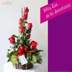 www.floristeriaceliflor.com Pide tu arreglo desde cualquier parte del mundo