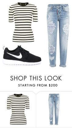 """Monday"" by julietoft on Polyvore featuring Theory, Dsquared2 and NIKE"