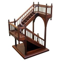 happy lady decorates: Miniature Architectural Stair Model