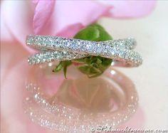 Zweireihiger Brillanten Ring » Juwelier Schmucktraeume.com