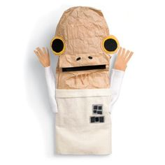 It's not a trap! In fact, you'll be recycling while making a cool puppet! Transform a boring paper bag into a sassy puppet of Mon Calamari military hero Adm ...