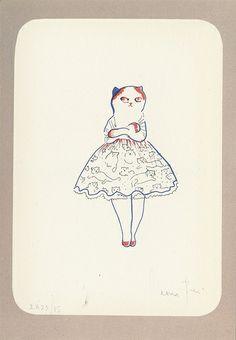 Cat in skirt | Flickr - Photo Sharing!