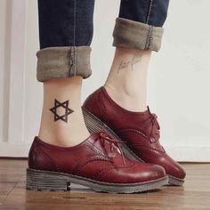 PLANA Oxford Zapatos de Mujer Otoño 2016 Pisos Moda Brogue Oxford Zapatos de Las Mujeres mocasines sapatilhas sapatos femininos zapatos mujer