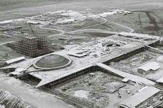 Construção do Congresso Nacional de Brasília DF 1959