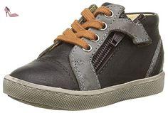 GBB Laz, Sneakers Hautes Garçons, Marron (14 Vte Marron/Gris Dpf/2706), 24 EU - Chaussures gbb (*Partner-Link)