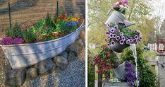 25 kreatív kerti dekorötlet