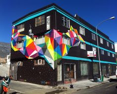 Lost Infinite by Okuda - Cape Town, South Africa, 2012