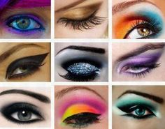Daring eye makeup looks @ http://itsbethbitches.tumblr.com/