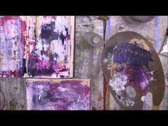 Using up leftover paint: Tania Bain Mix Media Artists: June 2015