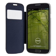 Unlocked Doogee VOYAGER DG300 5.0 Inch QHD Android 4.2 3G Phablet 4GB ROM Dual Core MTK6572W Dual SIM Dual Standby Smartphone GPS Cellphone WIFI WAP Bluetooth Google APPs Tablet PC for Orange, O2, Vodafone, 3 network,T-Mobile, Tesco Mobile, Virgin Mobile Network Original Protective Case (Black)