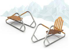Transformable sledge by Denis Dolganov