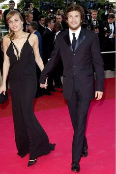 Diane Kruger With Future Husband Guillaume Canet At Cannes Premiere Of Moulin Rouge May