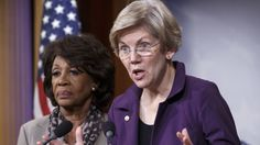 """WASHINGTON -- Democrats on Wednesday raged against a government funding bill that would provide taxpayer subsidies to risky Wall Street derivatives trading. """"The House of Representatives is about to show us the worst of government for the ric. Economic Justice, Social Justice, Senator Warren, Financial Regulation, Maxine Waters, Financial Instrument, Liberal Democrats, Thing 1, Elizabeth Warren"""
