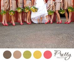 Wedding Colors, Pretty Palettes #24 -PHOTO SOURCE • JAMIE ZANOTTI PHOTOGRAPHY