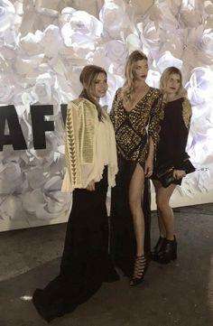 Look de famosas en la Gala Bafweek 2015