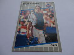 Gary Carter Catcher Mets