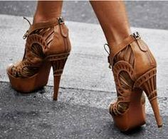 Love these cutout platforms