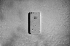 Never worry about dropping your phone again with a concrete phone case!