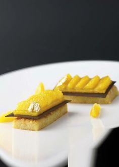 Le Pim's revisité, par Aleksandre Oliver, pâtissier chez Dubern à Bordeaux et sous l'objectif de François Blazquez | Retrouvez toutes nos recettes sur Gourmets de France . fr