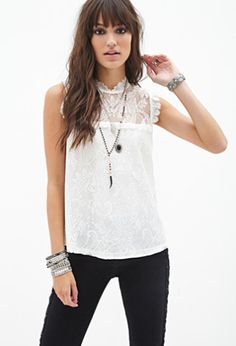 Floral Lace Top | FOREVER21