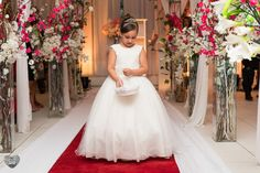 Daminha de honra - cerimônia - casamento