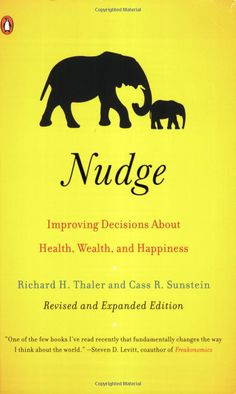 Nudge: Improving Decisions About Health, Wealth, and Happiness by Richard H. Thaler and Cass R.Sunstein #Nudge #Richard_H_Thaler #Cass_R_Sunstein #Psychology #Books