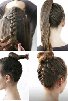5 Cute, Quick Everyday Hair Styles #Beauty #Trusper #Tip   ................................  #hairideas #hairstyles #haircuts #hairlavie #hairinspo #hairinspiration #hair #hairlavie #braids #braidtutorial #hairtutorials
