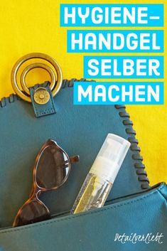Hygiene-Handgel selber machen - Another! Aloe Vera, Zero Waste, Advent, Homemade Cosmetics, Diy Gifts, Beauty Routines, Natural Remedies