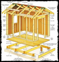 Shed Plans 8 X 8 : Wooden Project Tools
