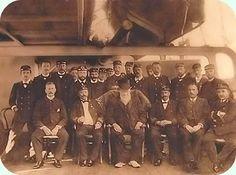"""Kruger op oorlogsschip """"De Gelderland"""""""