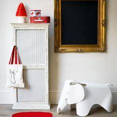 Kinderzimmer Wohnideen Möbel Dekoration Decoration Living Idea Interiors home nursery - Childens Schlafzimmer mit Tafel