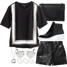 """""""Untitled #9529"""" by theleatherlook on Polyvore"""