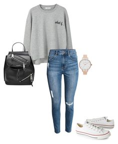"""no. XXXXX"" by misell28 on Polyvore featuring Mode, MANGO, Converse, Marc Jacobs und Olivia Burton"