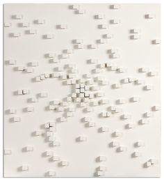 Galerie Wit, een van de twee galeries met Herman de Vries, solo, Toevals…
