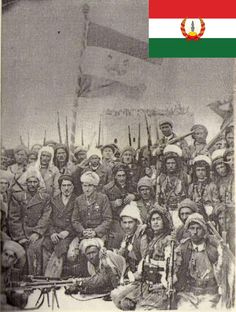 The Republic of Mahabad (Komara Mahabadê) was a short-lived Kurdish state in Iran for the duration of the year 1946. The state arose as a result of USSR-incitement and investment in Kurdish nationalism, but was re-annexed by Iran after the USSR withdrawal from the region. The Republic, Persian, History, Iran, Painting, Colors, Historia, Persian People, Painting Art