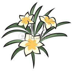 vector flower Banque d'images
