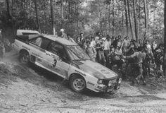ra Hannu Mikkola - Arne Hertz-17º Rally Portugal 1983. Audi Quattro A1. Clasificado 1º