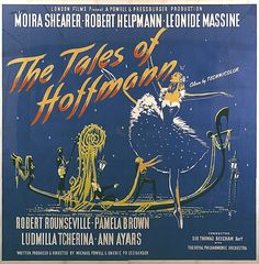 British six-sheet poster for The Tales of Hoffmann, directed by Michael Powell and Emeric Pressburger, Great Britain, 1951. Poster design by Marc Stone, c. 1950