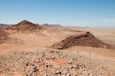 Collines du désert