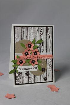 Geburtstagskarte Petite Petals  - Stampin' Up!